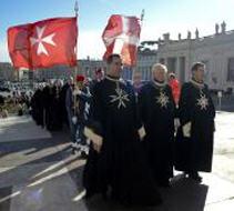Maltas ordeņa bruņinieku gājiens Vatikānā
