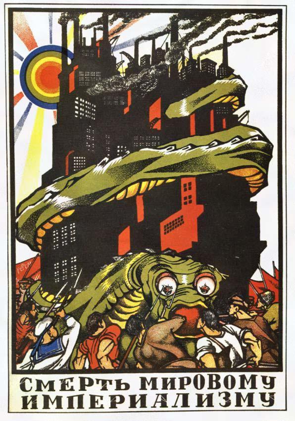 Nāvi pasaules imperiālismam.