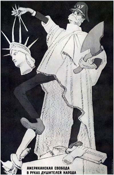 Amerikāņu brīvība atrodas tautas žņaudzēju rokās.