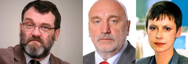 Juris Rozenvalds, Ivars Godmanis, Sarmīte Ēlerte