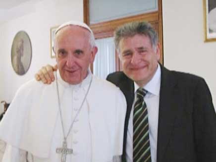 Romas pāvests H.M.Bergoljo un rabīns Ābrams Skorka