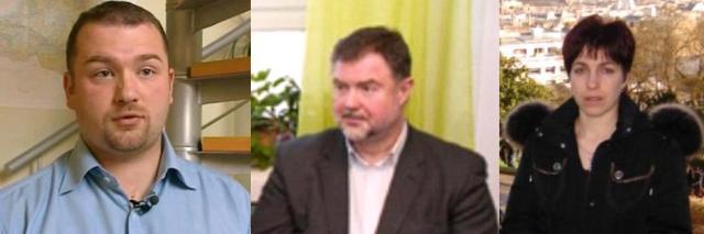 Aivars Krasnogolovs, Arnis Kauķis, Sandra Meldere