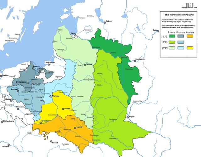 Polijas dalīšanas 1772-1795