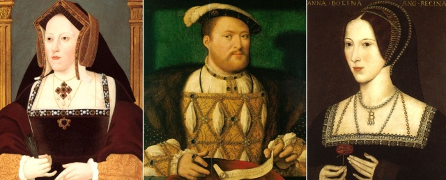 Aragonas Katrīna, Henrijs VIII Tjūdors, Anna Boleina (Elizabetes I māte)