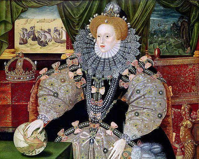Elizabete I Tjūdore - Boleina (Džordža Govera  glezna)