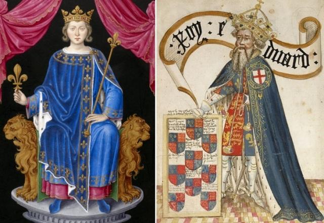 Filips IV Skaistais, Eduards III