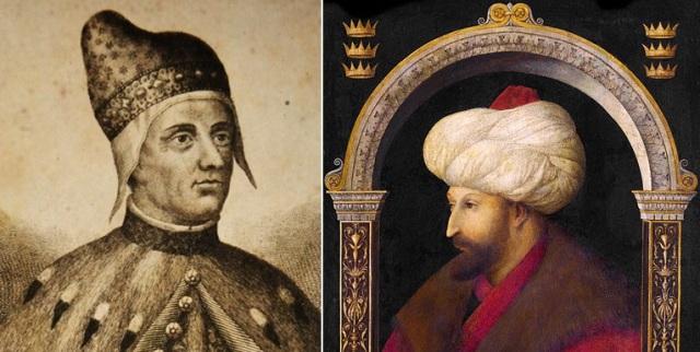 Frančesko Foskari, Mehmeds II