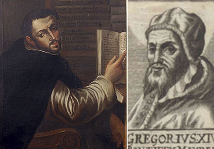 Ignatijs Dante, pāvests Gregors XIII