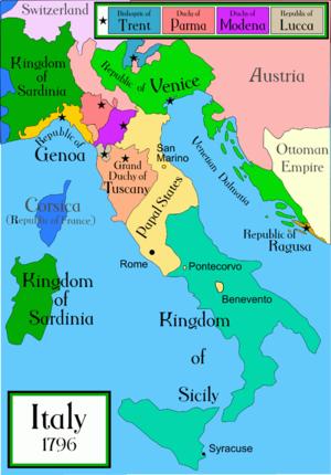 Venēcija 1796.gadā