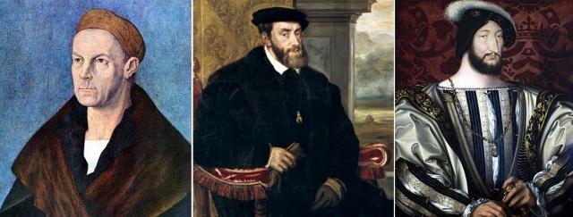 Jakovs Fuggers Bagātais, Kārlis I (V) Habsburgs, Franciskam I Valuā