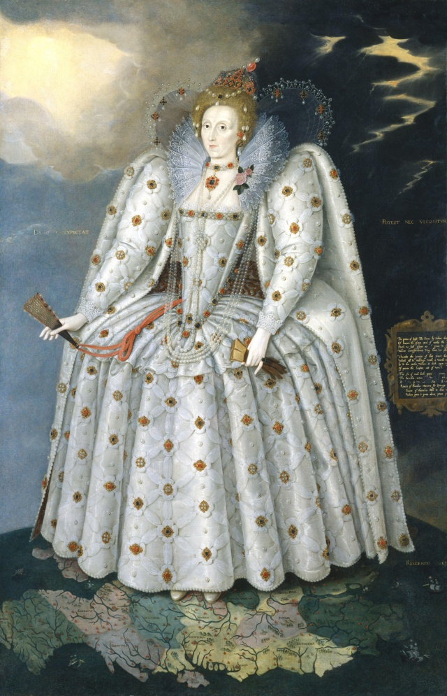 Elizabete I Tjūdore - Boleina (Markusa Gerarda glezna)
