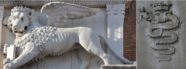 Venēcijas lauva un Milānas čūska