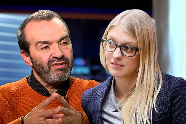 Viktors Šenderovičs, Olesja Rjabceva