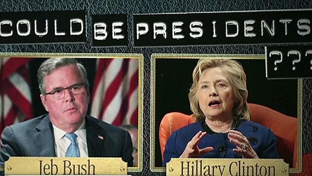 Džebs Bušs, Hilarija Klintone