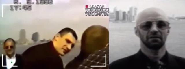 Vitālijs Kļičko Ņujorkā 1996.gadā un Viktors Ribalka ar iesauku Zivtiņa