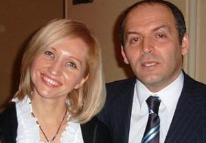 Jeļena Piņčuka (ex Kučma) un Viktors Piņčuks