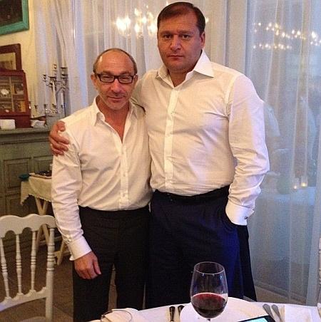 Genādijs Kerness un Mihails Dobkins