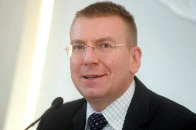 """Edgars Rinkēvičs (""""Vienotība"""", LR Ārlietu ministrs, bijušais Aizsardzības ministrijas valsts sekretārs)"""