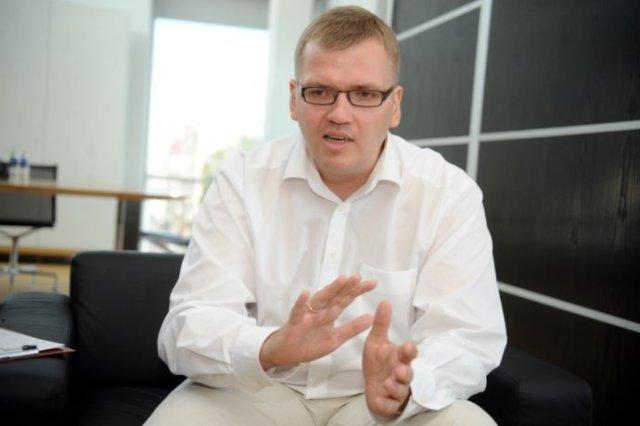 """Juris Pūce (partijas """"Latvijas attīstībai"""" valdes priekšsēdētājs)"""