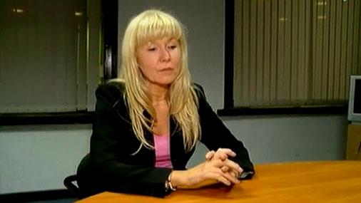 Sandra Veinberga (latviešu izcelsmes zviedriete)