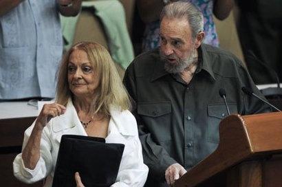 Fidels Kastro un Deliva Soto