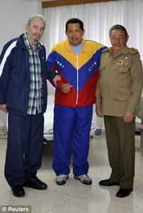 Fidels Kastro, Hugo Čavess, Rauls Kastro