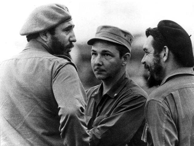 Fidels Kastro, Rauls Kastro, Ernesto Čegevara 1963.gadā