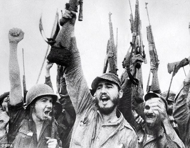 Fidels Kastro pēc Batistas režīma krišanas 1959.gads
