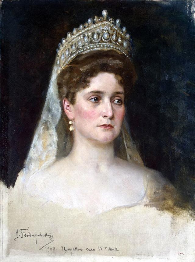 Krievijas imperatora sieva Aleksandra (Viktorija Alise Helēna Luīze Beatrise fon Gessena)