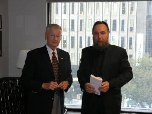 Zbigņevs Bžezinskis un Aleksandrs Dugins