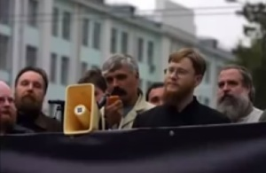 Dmitro Karčinskis un Aleksandrs Dugins