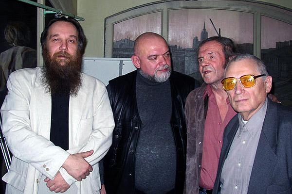 Aleksandrs Dugins, Geidars Džemals, Jevgēnijs Golovins, Jurijs Mamļejevs
