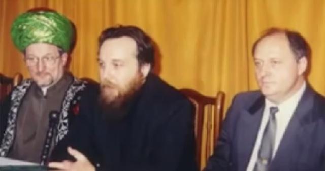 Aleksandrs Dugins un Pjotrs Suslovs