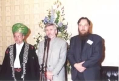 Ahmeds Nuhajevs un Aleksandrs Dugins