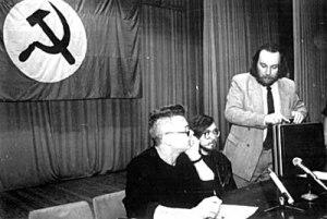 Eduards Ļimonovs un Aleksandrs Dugins