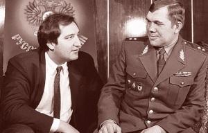 Dmitrijs Ragozins un Aleksandrs Ļebeds