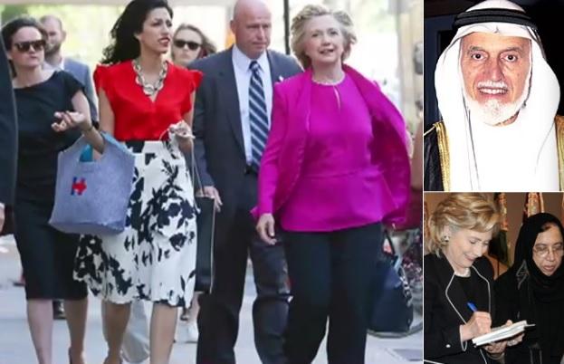 Huma Abedin un Hilarija Klintone iepērkas (2016.gada oktobris); Hilarija Klintone un Saleka Abedin; Abdula Omārs Nasifs