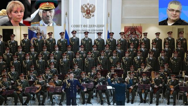 Aleksandra Aleksandrova vārdā nosauktais akadēmiskais ansamblis, Jeļizaveta Gļinka, Valērijs Halilovs, Antons Gubankovs