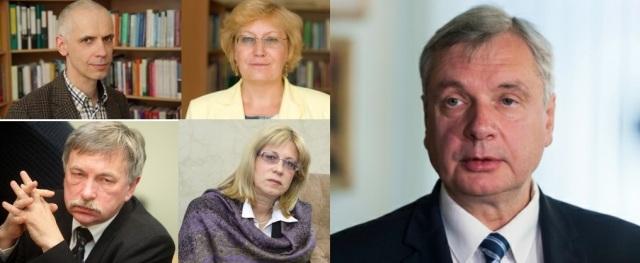 Ivars Austers, Malgožata Raščevska, Indriķis Muižnieks, Ina Druviete, Kārlis Šadurskis